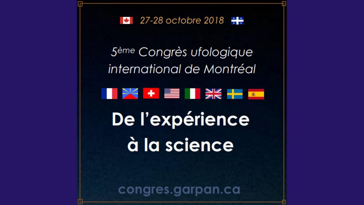 5th International Congress on Ufology in Montreal