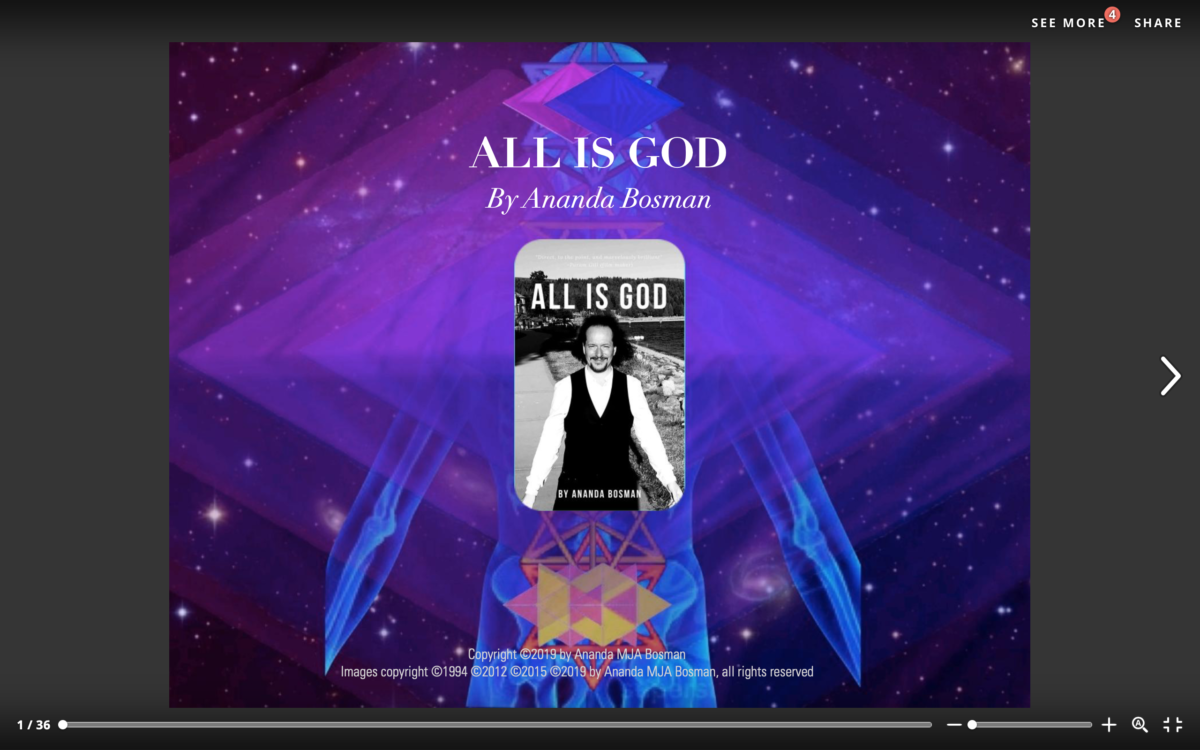 All Is God ~ Science to Sage Magazine