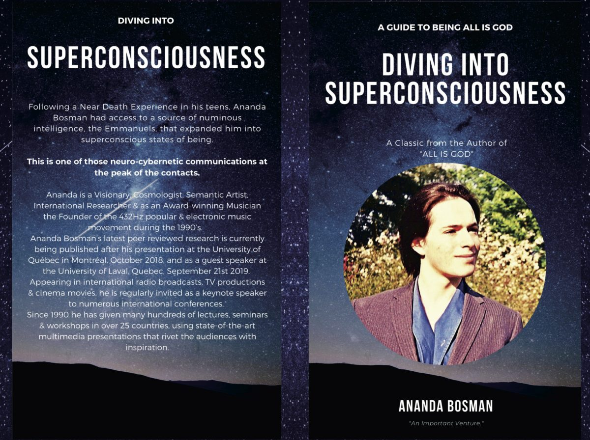 Diving into Superconsciousness~Out Now!