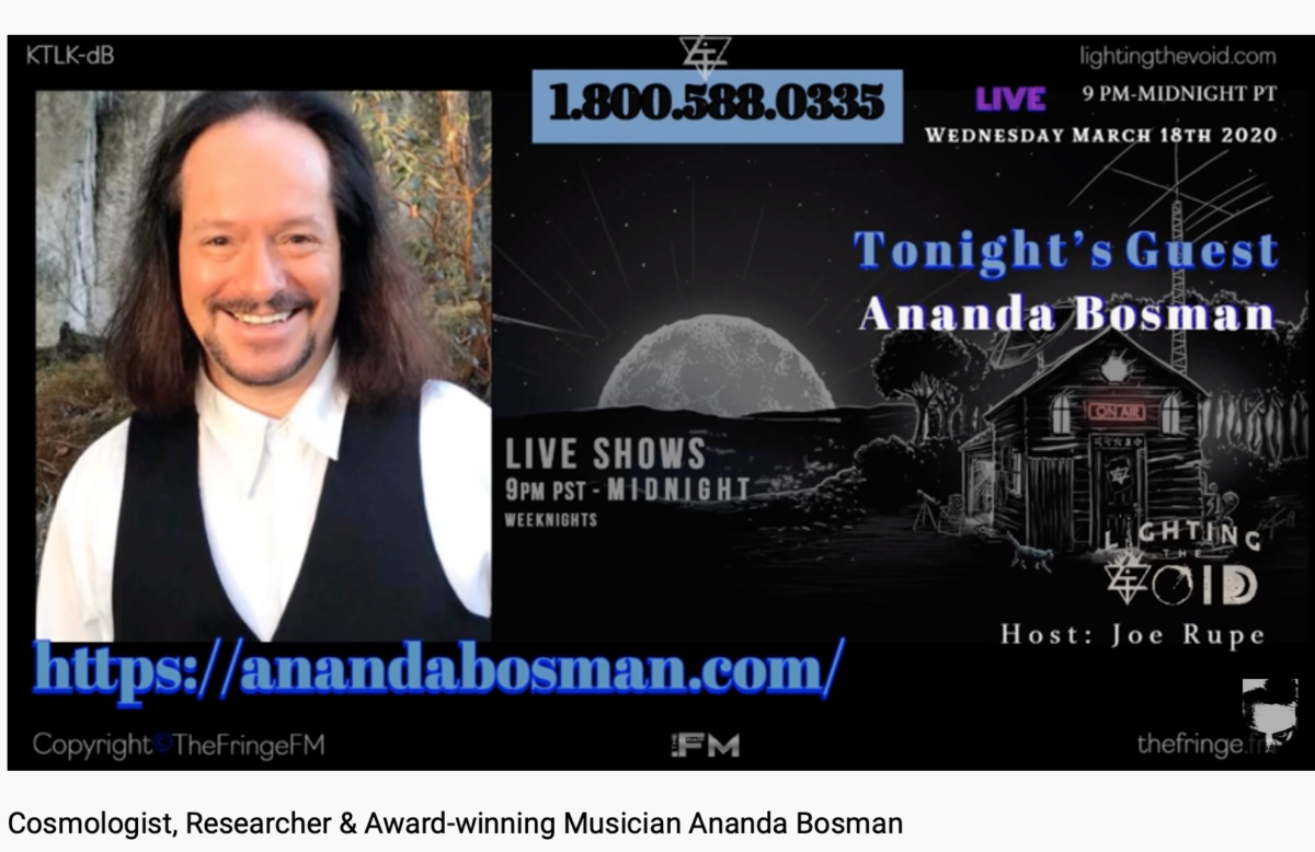"Ananda on ""Lighting the Void"" with Joe Rupe"